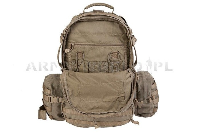 French Military Backpack Tecpack Original Coyote Used