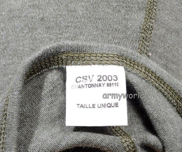 French Military Balaclava One-hole Oroginal New