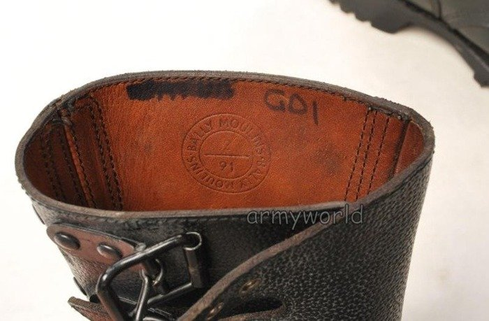French Military Shoes Cling Type Original Demobil