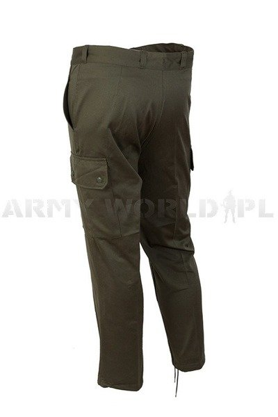 French Military Trousers Oliv Original New