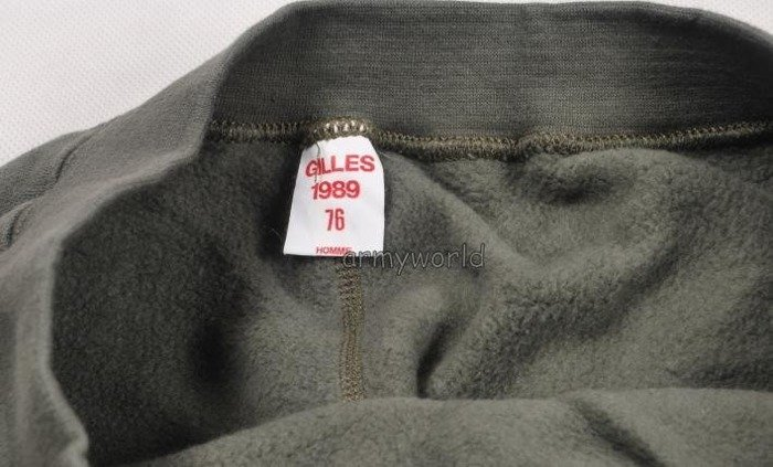 French Military Winter Drawers Oliv Original New