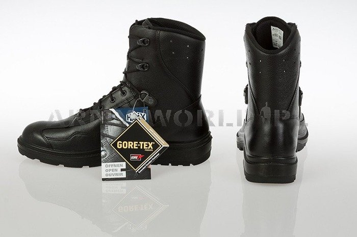 French Police Shoes HIGH Men's GORE-TEX Haix Original Black II Quality New