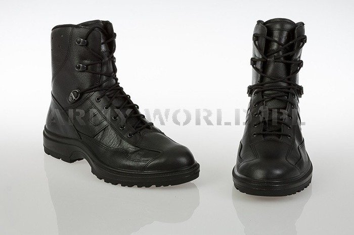 French Police Shoes HIGH VERSION Haix Original Black New