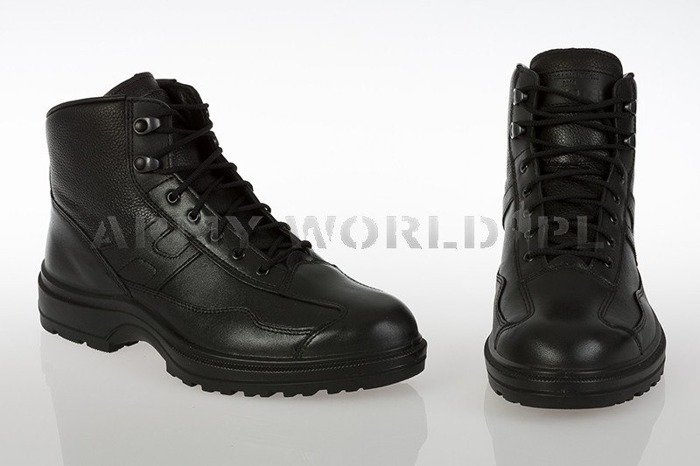 French Police Shoes MID VERSION Haix Original Black New