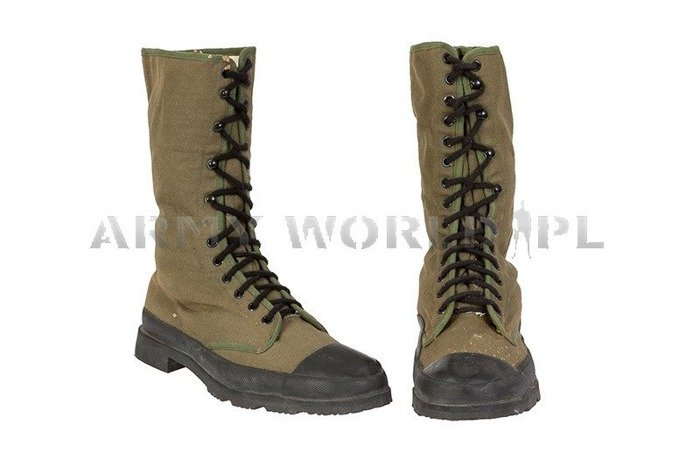 French Shoes Foreign Legion Oliv Used