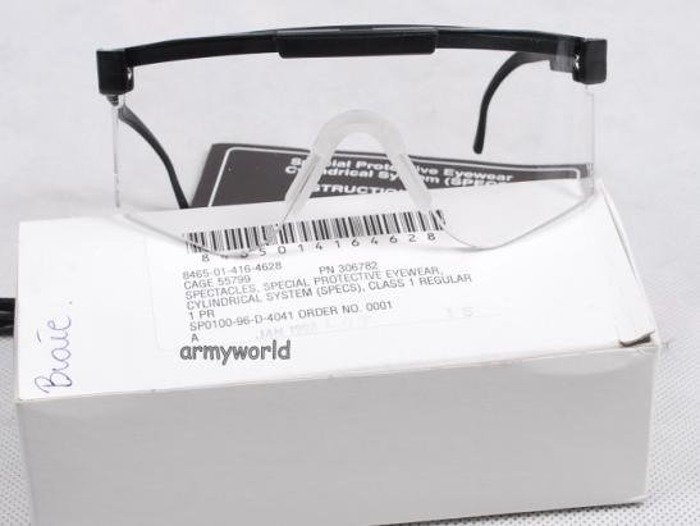 Glasses US Army SPECTACLES BALLISTIC PROTECTIVE Specs Transparent Original New