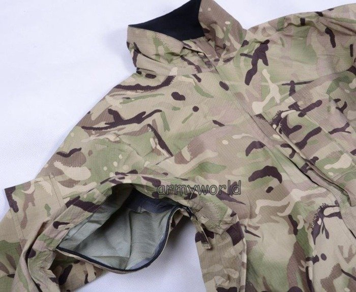 Goretex Set (Jacket+Trousers) Rainproof Military British  MTP (Multi Terrain Pattern) Original New