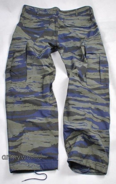 Greek Military Trousers Night Camo Ripstop Original New