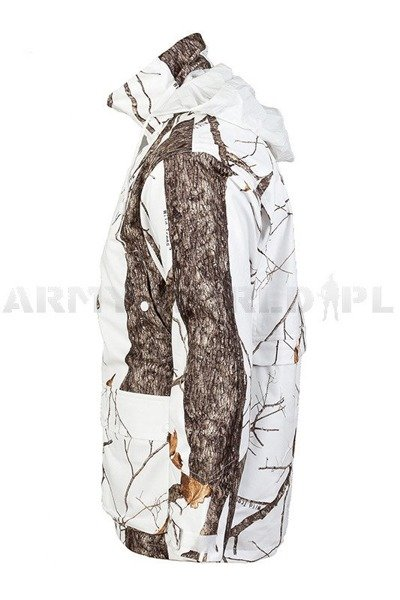 Hunting Jacket no-swishing Wild Trees Mil-tec Winter Camouflage