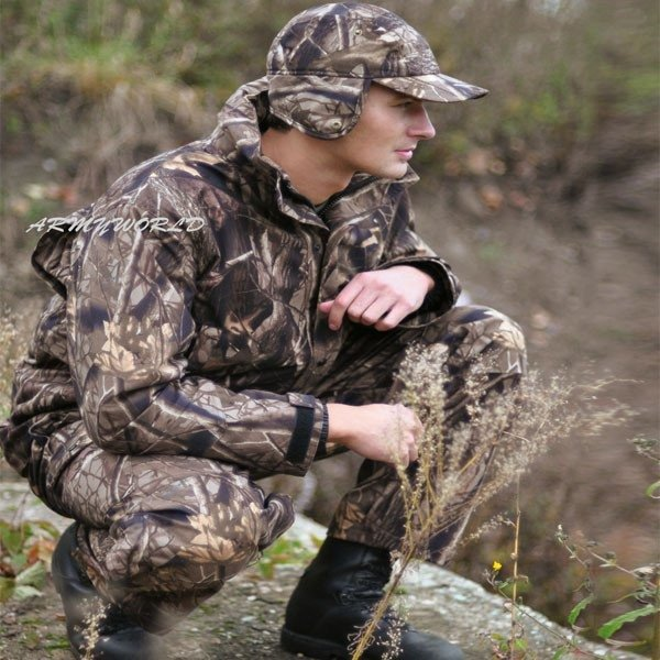 Hunting Jacket no-swishing Wild Trees Mil-tec aUTUMN CAMOUFLAGE