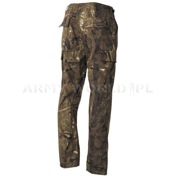 Hunting Pants Wild Trees MFH autumn camouflage Ripstop New