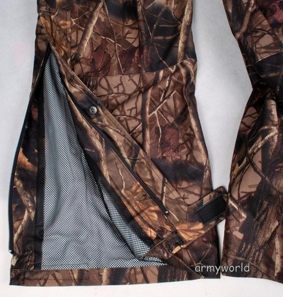 Hunting Trousers No-swishing Wild Trees Mil-tec AUTUMN CAMOUFLAGE