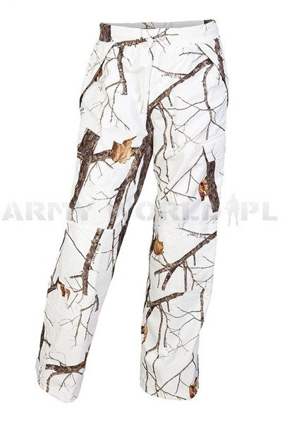 Hunting Trousers No-swishing Wild Trees Mil-tec Winter Camouflage