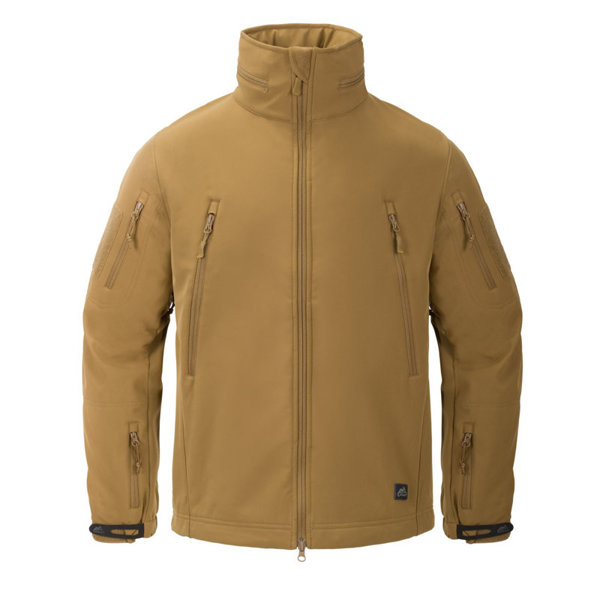 Jacket Helikon-tex Gunfighter Shark Skin Windblocker Coyote