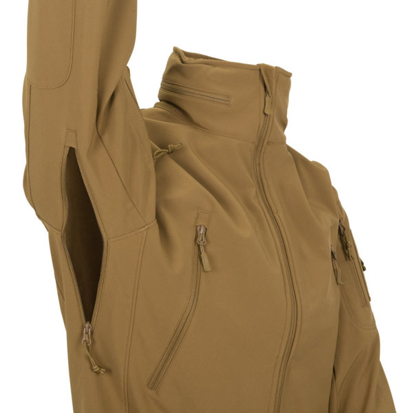 Jacket Helikon-tex Gunfighter Shark Skin Windblocker OLIV