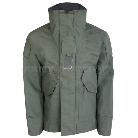 Jacket Nomex / Gore-tex Flame-retendant Waterproof Dutch Oliv Original Demobil