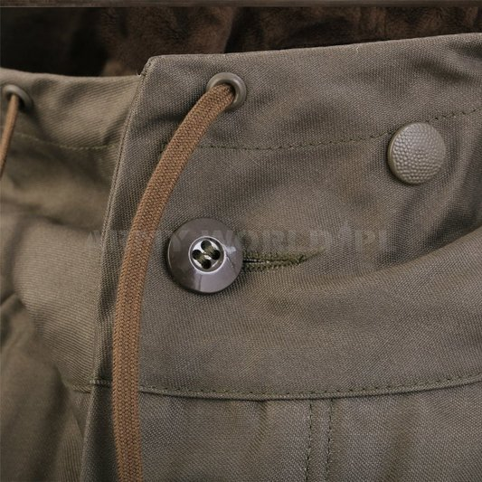 Jacket Parka Bundeswehr Oliv Warmed Original Demobil