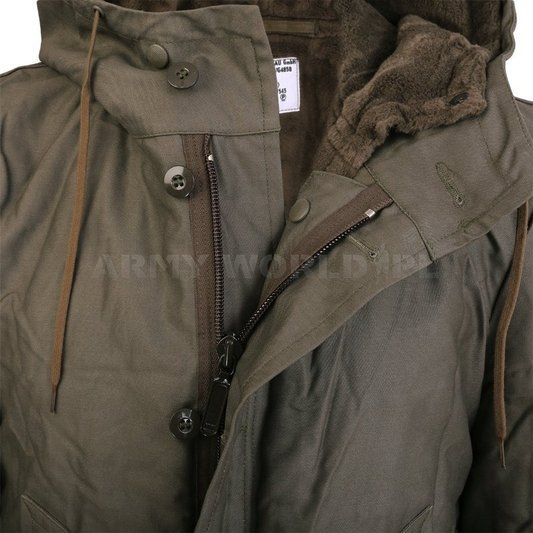 Jacket Parka Bundeswehr Oliv Warmed Original Demobil II Quality
