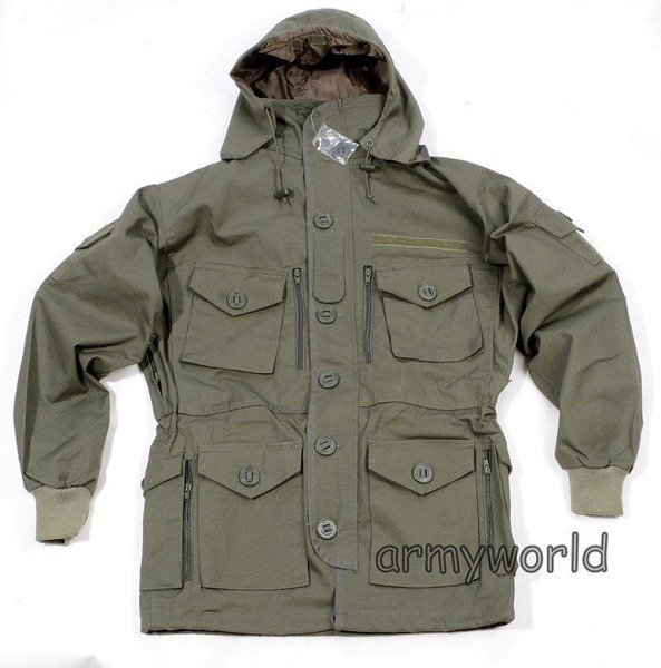 Jacket Smock KSK Special Forces Bundeswehr Oliv Mil- tec New