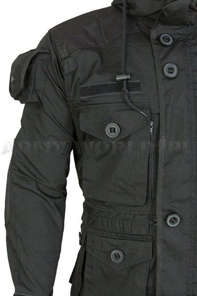 Jacket Smock KSK Summer Version Hit Squads of Bundeswehr Black New