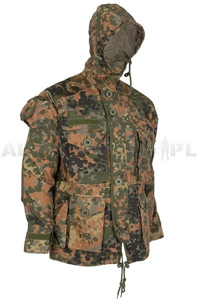 Jacket Smock KSK Summer Version Special Forces Bundeswehr Flecktarn Mil-tec New
