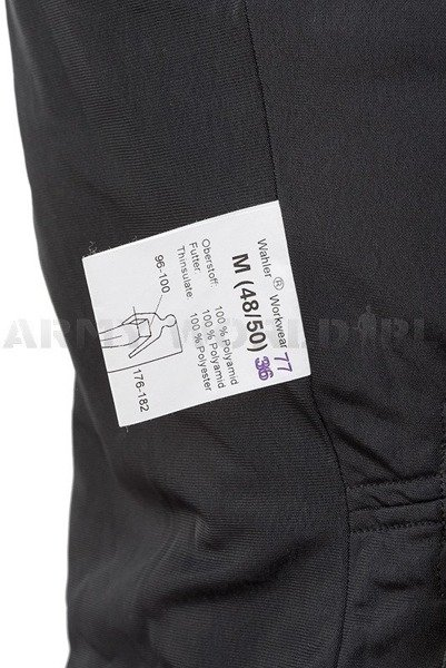 Jacket Workwear WAHLER Warmed Thinsulate Original Demobil M1