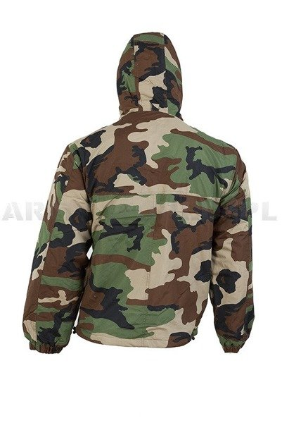 Kangools Mil-tec Kurtka Anorak Combat Winter version Woodland New