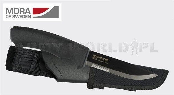 Knife Morakniv® Tactical SRT - Stainless Steel - Black - New