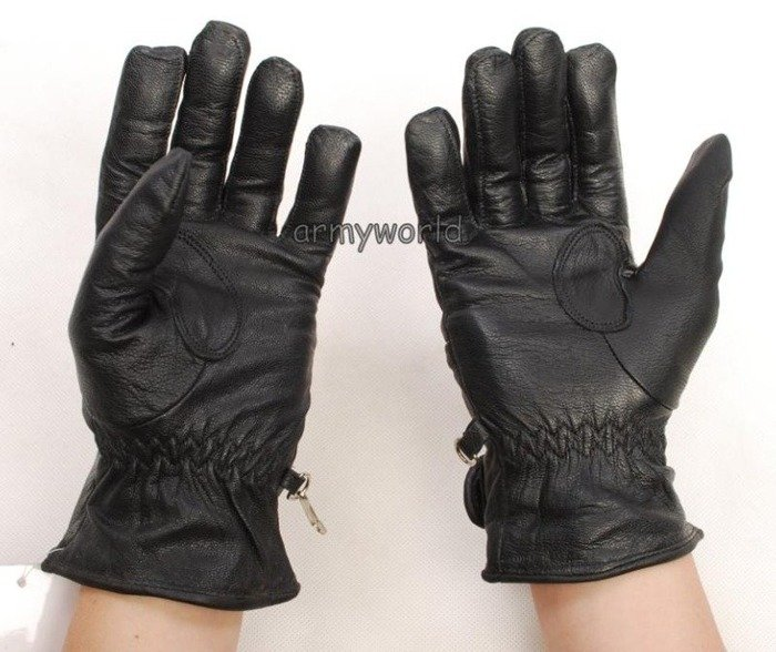 Leather Motorcycle Gloves ORINA  Dutch New