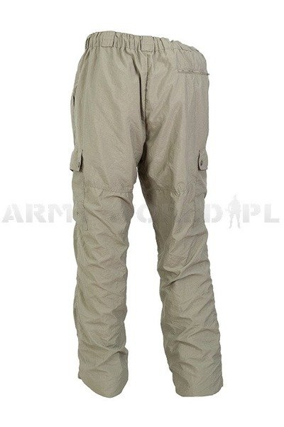Light Military Trekking Pants Shell type Oliv Used