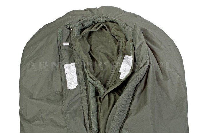 Light Weight Liner  For Medium Weight Sleeping Bag British Army Original Oliv Demobil