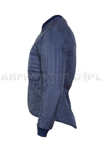 Liner To Jacket Military Dutch Dark Blue Original New