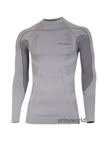 MEN'S SHIRT Thermo BRUBECK GREY NEW