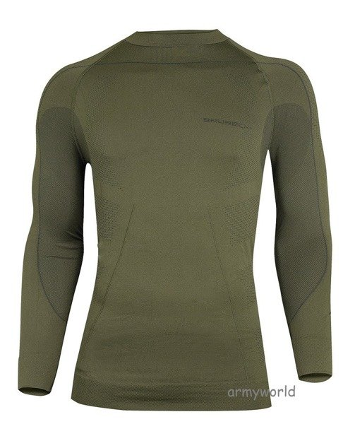 MEN'S SHIRT Thermo BRUBECK Khaki NEW