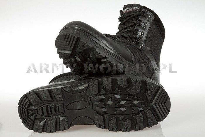 MILITARY Tactical Boots Thinsulate Black Mil-tec New