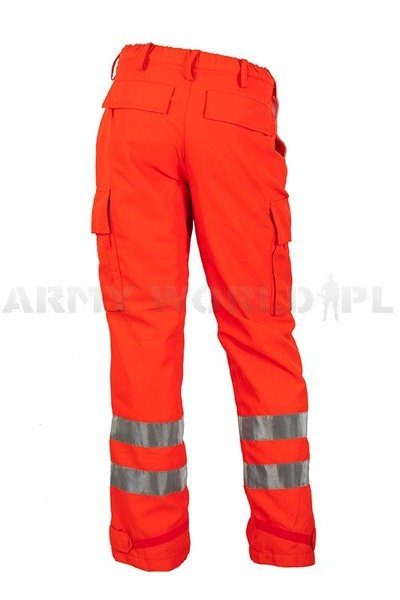 Medical Trousers Rainproof Orange With Reflectors Gore-tex Original Demobil