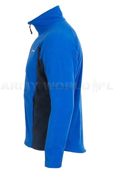 Men's Fleece Jacket Berghaus Prism Micro Fleece Blue/Navy Blue New
