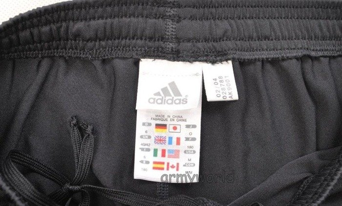 Men's Sport Leggins ADIDAS Black&Red German National Team Original Demobil