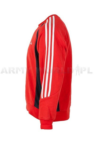 Men's Sweatshirt Of German National Team Original Red Demobil