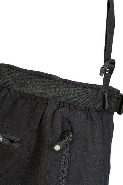 Men's Trousers MONTURA German National Team With Braces Black Original Demobil