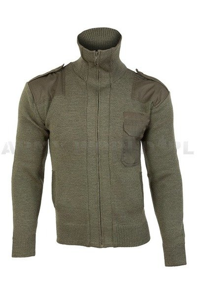 Men's cardigan green Mil-tec New