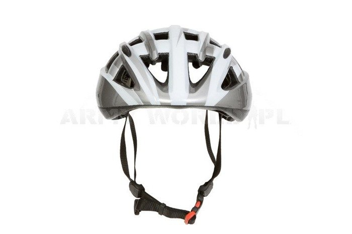 Met Volo Road Helmet White and Silver Used