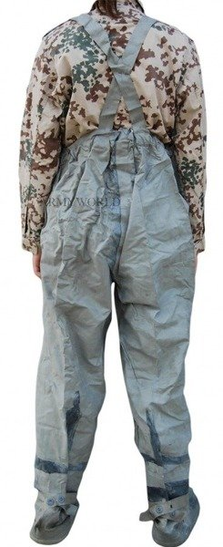 Militar y Chest Waders OP1 Rubber Rainproof DDR Original New