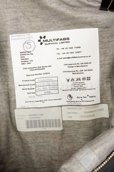 Militaru Suit Multifabs Survival Limited Gore-tex Oryginal Used