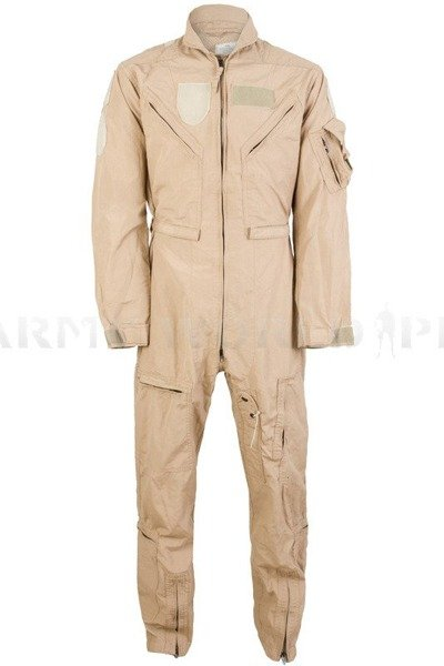 Military American Battle Suit Nomex US ARMY CWU-27/P Flame-retendant Creamy NEW