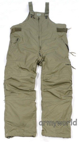 Military American Trousers MOUNTED CREW AND AIR CREWMEN'S Oliv NOMEX Original New