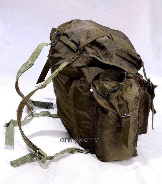 Military Austrian Backpack 80L Oliv Original New Version II - Set Of 10 Pieces