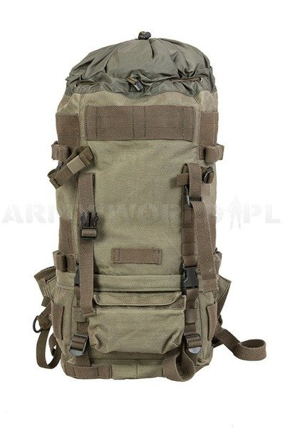 Military Austrian Backpack Cordura Capacity 50 liters Model 2 Oliv Original Very Good condition