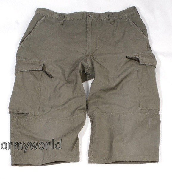 Military Austrian Bermuda Pants Shorts Ripstop Oliv Original Demobil