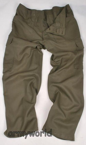 Military Austrian Cargo Trousers Original Demobil